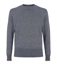 Paul Smith Ps By Crew Knit Jumper Male Grey