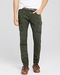 Scotch And Soda Super Slim Cargo Pants Army