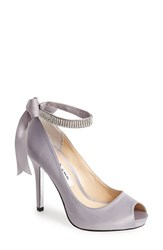 Women's Nina 'Karen' Platform Pump Royal Silver