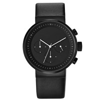 Projects Watches Kiura Chronograph Black Watch