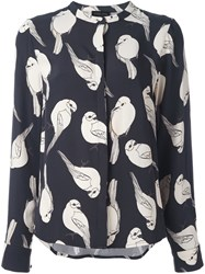 Stine Goya 'Goldfinch' Shirt Blue