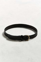 Urban Outfitters Uo Woven Belt Black