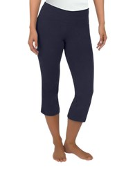 Jockey Flare Capri Leggings Blue
