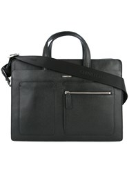 Cerruti 1881 Side Pocket Laptop Back Black