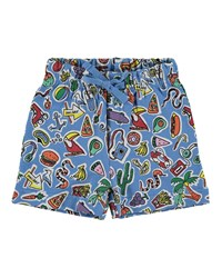Stella Mccartney Toy And Food Print Shorts Size 12 36 Months Multi