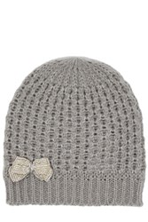 Oasis Beaded Bow Hat