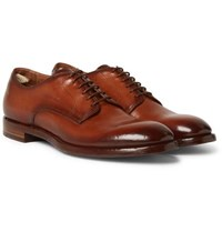 Officine Creative Emory Leather Derby Shoes Brown