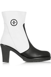 Lacroix Salzbourg Fleece Lined Leather Boots White