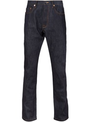 Valentino Straight Fit Jeans Blue