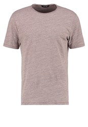 Only And Sons Onsalbert Basic Tshirt Shadow Gray Pink