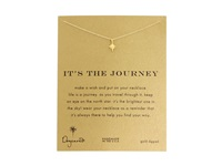 Dogeared It's The Journey Necklace 16 Inch Gold Necklace