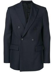 Golden Goose Deluxe Brand Suit Jacket Blue