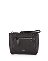 Botkier Soho Zipper Detail Wristlet Bag Black