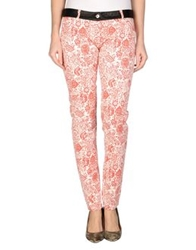Patrizia Pepe Denim Pants Red