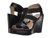 Adrienne Vittadini Cleve Smooth Stretch Black Women's Sandals