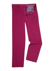 Oscar Jacobson Greg Straight Leg Chino Rose