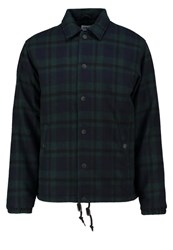 Edwin Light Jacket Black Dark Green