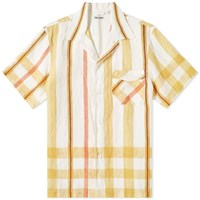 Our Legacy Short Sleeve Box Shirt Yellow