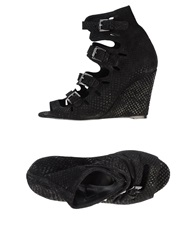 Surface To Air Ankle Boots Black