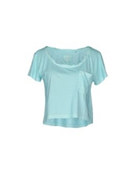 Guess Short Sleeve T Shirts Coral