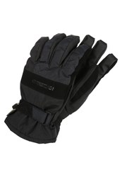 Quiksilver Hill Gloves Black
