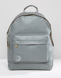 Mi Pac Rubber Backpack Grey Grey