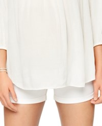 A Pea In The Pod Maternity Cuffed Shorts