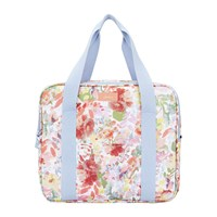 Joules Picnic Cool Bag White Floral