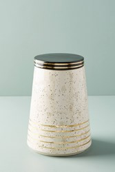 Anthropologie Hillier Cannister Ivory