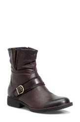 Brn Women's B Rn Virgo Slouch Engineer Boot Chili Leather