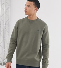 French Connection Basic Logo Crew Neck Jumper Green