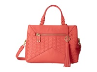 Rafe New York Bryn Satchel Coral Bay Satchel Handbags Tan