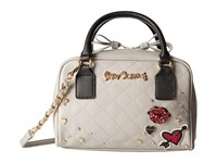 Betsey Johnson Peekaboo Satchel Grey Satchel Handbags Gray
