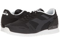 Diadora Titan Weave Black Athletic Shoes