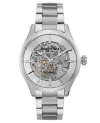 Kenneth Cole New York Men's Automatic Stainless Steel Bracelet Watch 44Mm Silver