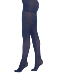 Berkshire Luxe Opaque Control Top Hosiery Navy