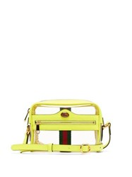 Gucci Ophida Mini Transparent Cross Body Bag Yellow