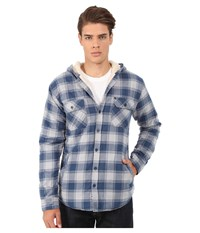 Rip Curl Hayes Long Sleeve Flannel Off White Men's Jacket