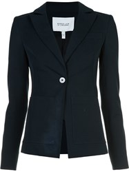Derek Lam 10 Crosby Patch Pocket Blazer Blue