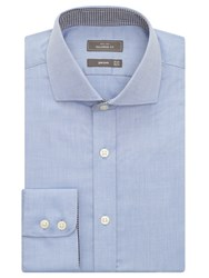 John Lewis Non Iron Dobby Tailored Fit Shirt