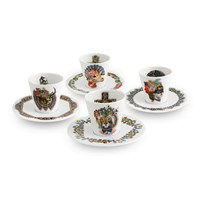 Christian Lacroix Love Who You Want Coffee Cups And Saucers Set Of 4