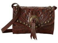 American West Gameday Small Crossbody Bag Earth Brown Cross Body Handbags