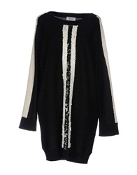 Aviu Short Dresses Black