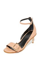 Tibi Ilana Sandals Tea Rose