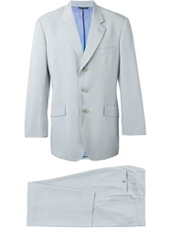 Moschino Vintage Two Piece Suit Blue