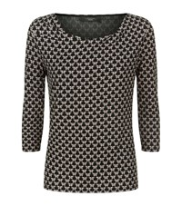 Max Mara Weekend Butterfly Cowl Neck Top Female Black