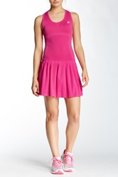 Asics Racket Dress And Short Set Pink