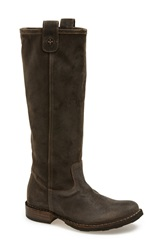 Fiorentini Baker 'Effie' Riding Boot Women Grey Leather