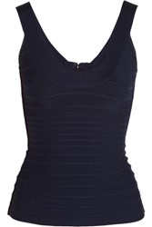 Herve Leger Bandage Top Midnight Blue