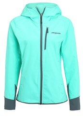 Patagonia Levitation Soft Shell Jacket Galah Green Mint